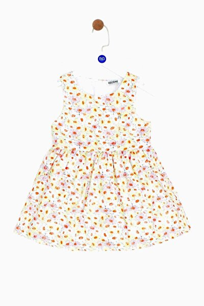 Kız Bebek Desenli Elbise 19ss0rr2907