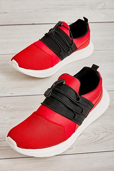 Kırmızı Beyaz Erkek Sneaker L1805192882