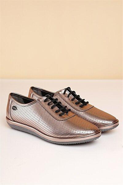 PC-50104 Platin Kadın Ayakkabı