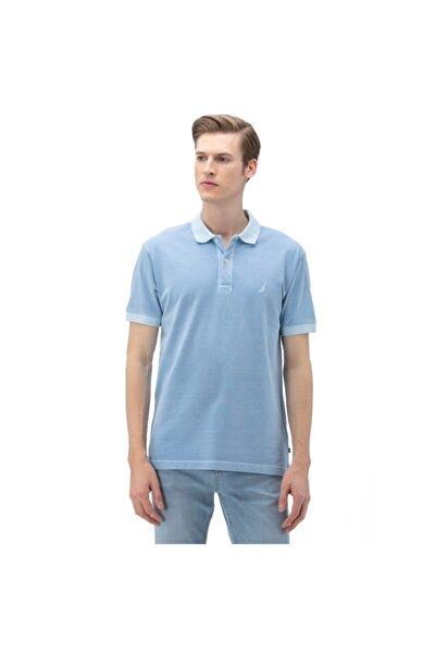 Nautıca Erkek Classic Fit Mavi Polo