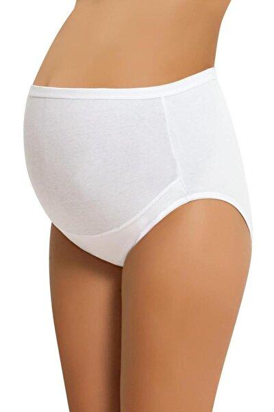 Kadın Beyaz Hamile Külodu 6'lı Paket