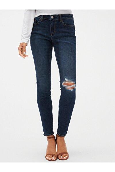 Mid Rise Legging Jean Pantolon
