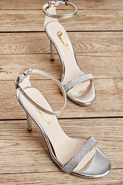 Lame Kadın Abiye Ayakkabı K01527008039