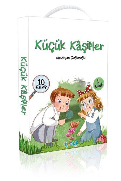 Küçük Kaşifler (10 Kitap) - 1. Sınıflar Için Dikkat Çocuk