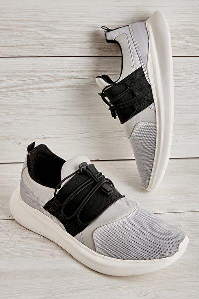 Taş Gri Siyah Erkek Sneaker L1805192882