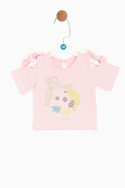 Kız Bebek Pembe T-shirt