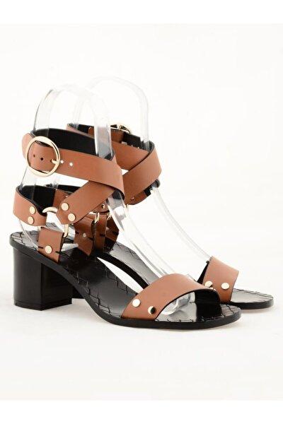 Hakiki Deri Klasik Topuklu Ayakkabı Nsc19y-a57506 Quetto