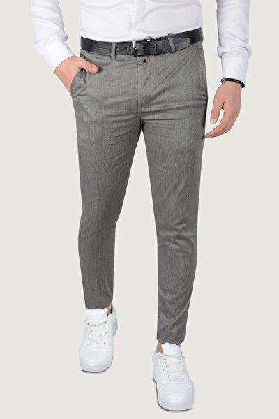 Erkek Keten Pantolon 9k-2200212-042 Antrasit