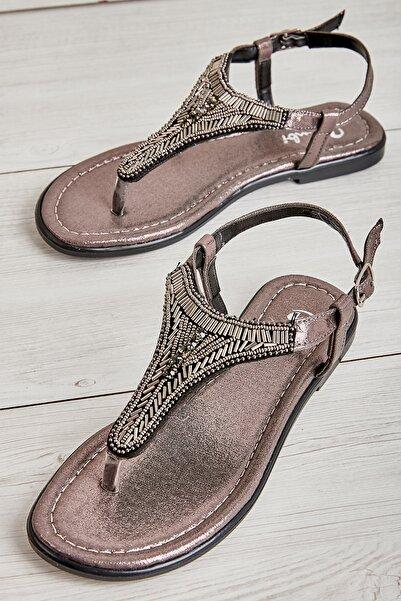 Platin Kadın Sandalet L0625020478