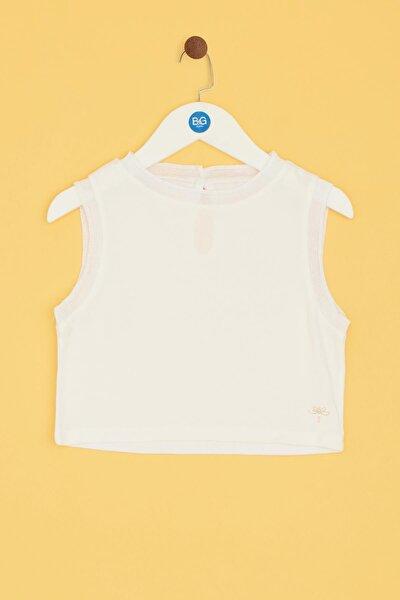 Kız Çocuk Beyaz Bluz