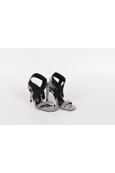 Topuklu Tek Bant Bayan Ayakkabı