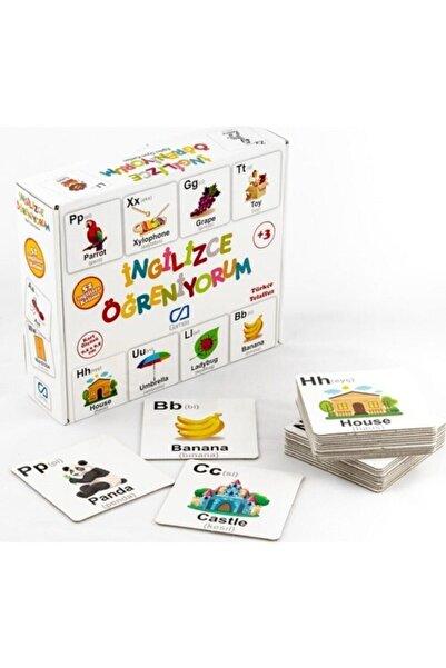 Ingilizce Öğreniyorum - Eğitici Oyun Kartları - Null