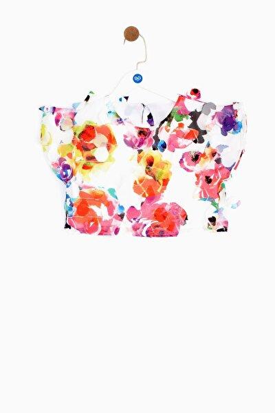 Kız Çocuk Desenli Bluz