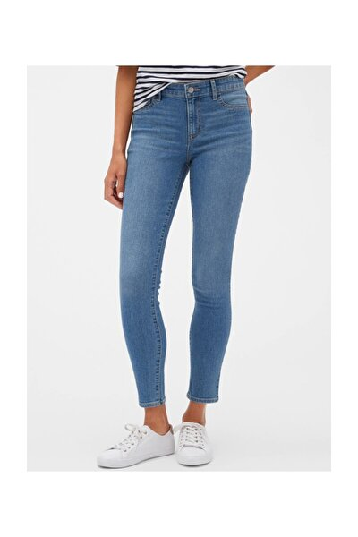 Favorite Mid Rise Legging Jean Pantolon