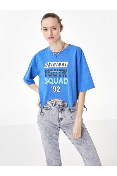 Asimetrik Kesim Tshirt