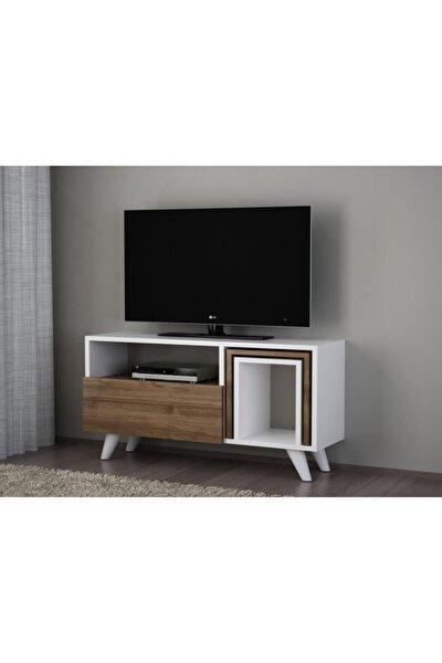 Novella K2 Tv Ünitesi Beyaz-ceviz