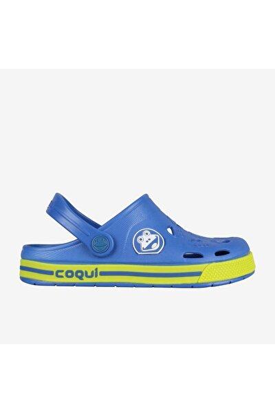8801-q042 Froggy Çocuk Terlik Sandalet Mavi-32/33
