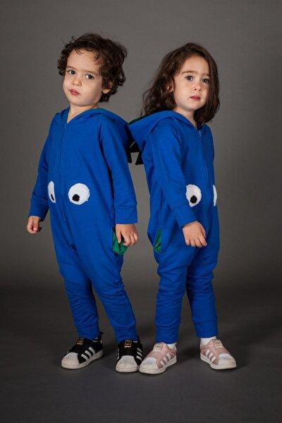 Dino Mavi Çocuk Tulum