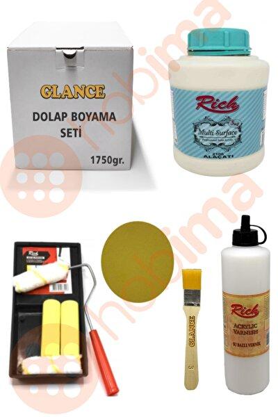 Glance Dolap Boyama Seti Multi Surface 1750 gr (Alaçatı )genel Amaçlı Boyama Seti