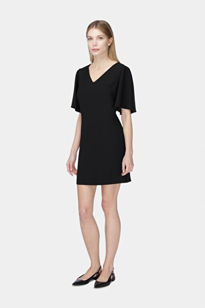 Kadın Siyah Rahat Kesim Elbise