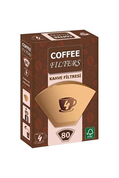 Coffee Filters Filtre Kahve Kağıdı 80'li Paket