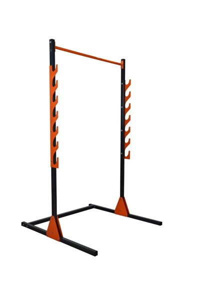 Rota Spor Yerli Üretim Barfiks & Squat Rack & Bench Press Halter Standı