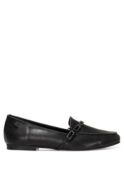 GENDAR 1FX Siyah Kadın Loafer Ayakkabı 101006363