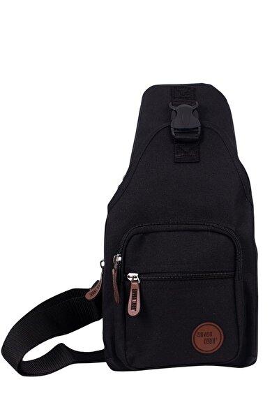 Unisex Siyah Bodybag Çapraz Çantası 2213