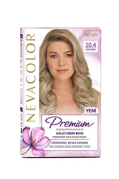 Nevacolor Premium Kalıcı Krem Set Boya 10.4 Kum Sarısı