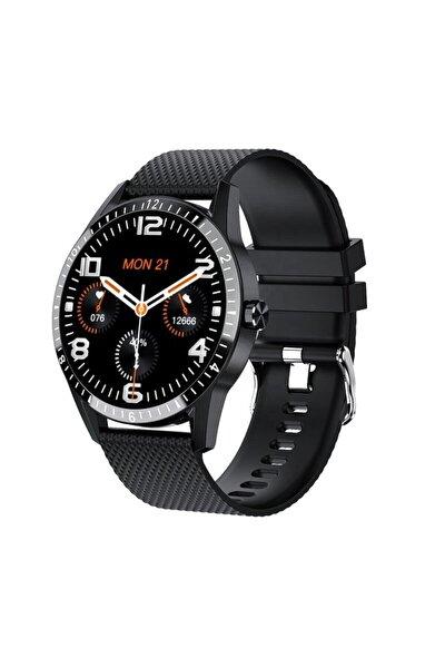 Unisex Siyah Yeni Nesil Y20 Akıllı Saat Tansiyon Ölçer Konuşma Özellikli Smart Watch