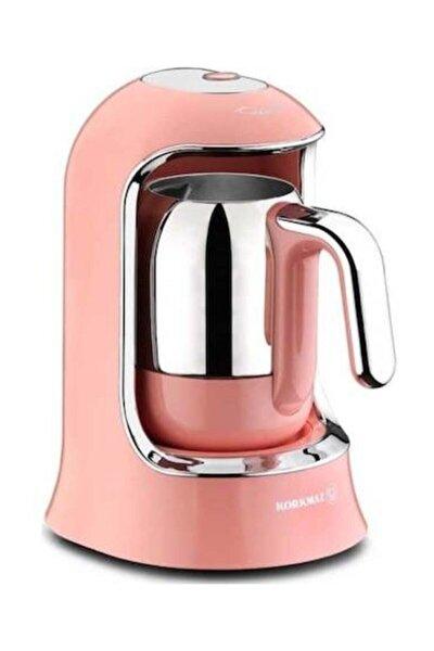 A860 Kahvekolik Pembe Otomatik Kahve Makinesi