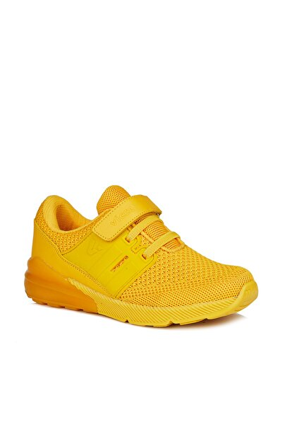 Flash Unisex Çocuk Sarı Spor Ayakkabı