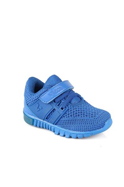 Bebe Ayakkabı Erkek Bebe Saks Mavi Spor Ayakkabı