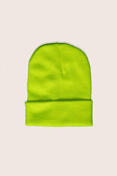 Unisex Yeşil Bere