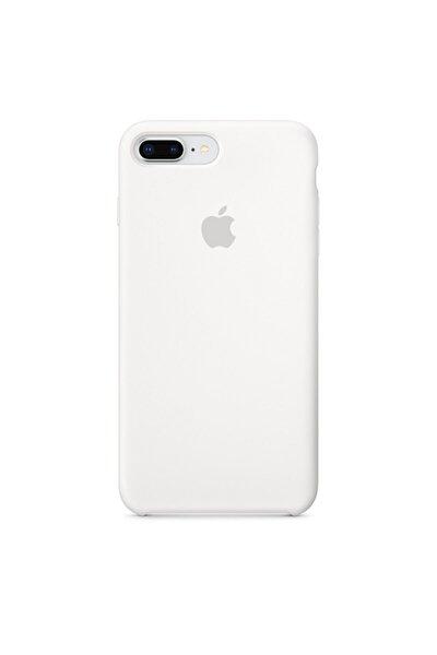 Iphone 7/8 Plus Uyumlu Beyaz Lansman Silikon Kılıf