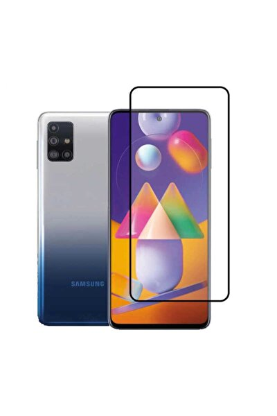 Samsung Galaxy M51 Full Kaplayan Temperli Cam Ekran Koruyucu