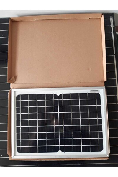 25w Monokristal Güneş Paneli