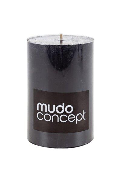 Sütun Mum Siyah 7x10 Cm