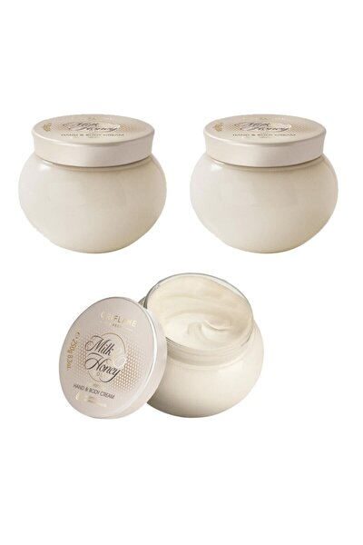 Milk & Honey Gold Besleyici El & Vücut Kremi - 3'lü Paket