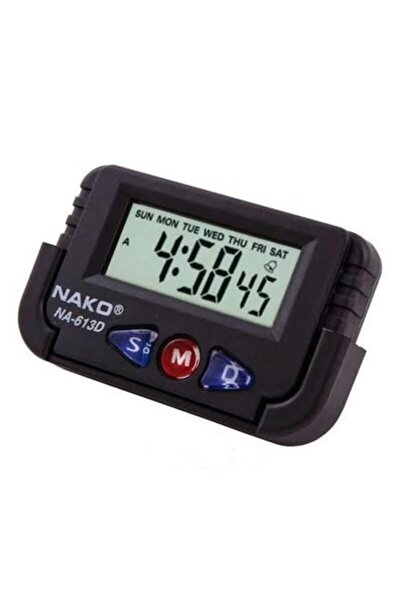 Etraders Na-613d Küçük Dijital Masa-araba Saati Alarm Kronometre