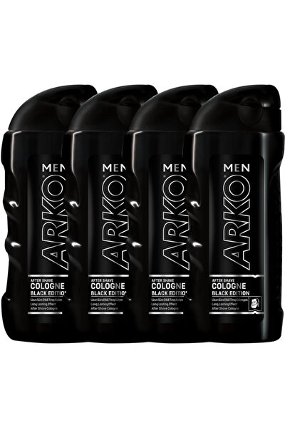 4'Lü Black Edition Tıraş Kolonyası 4X250 ml