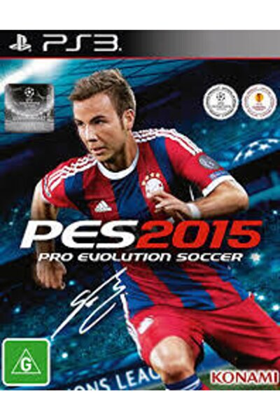 Ps3 Pro Evolution Soccer 2015 Pes2015