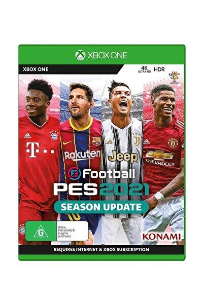 Pes 2021 Xbox One Oyun