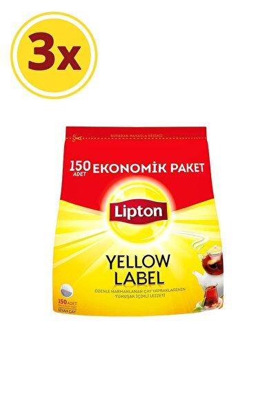 Yellow Label Demlik Poşet Çay 150'li X 3 Adet