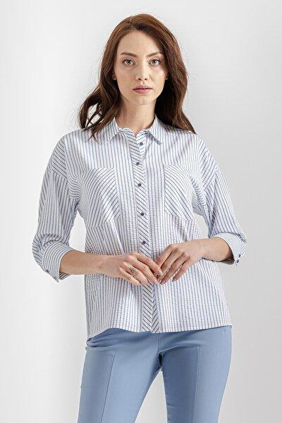 Arkadan Bağlamalı Gömlek