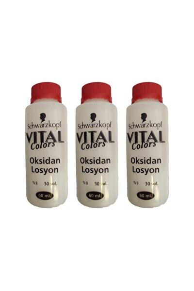 Vital Colors Oksidan 60 Ml 30 Volüm %9 3 Adet