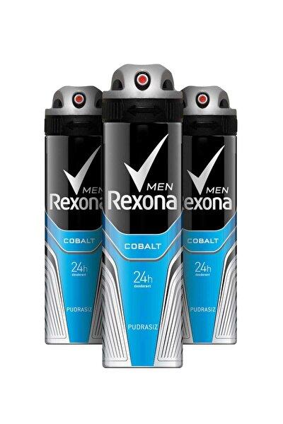 Erkek Deodorant Sprey Cobalt Dry 150 ml X 3 Adet