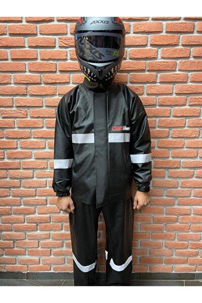 Dikişsiz Pvc Motosiklet Yağmurluk Takım