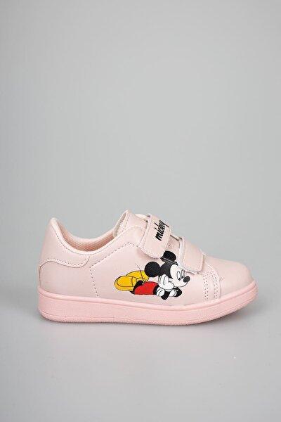 Kız Çocuk Pudra Günlük Sneaker
