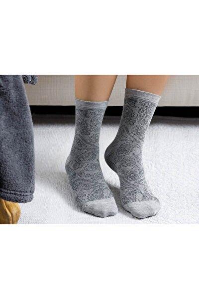 Samba Bambu Kadın Çorap Gri